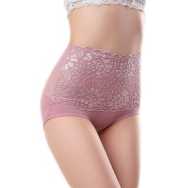 Sbra lace panties control tummy brief high waist tummy control ...