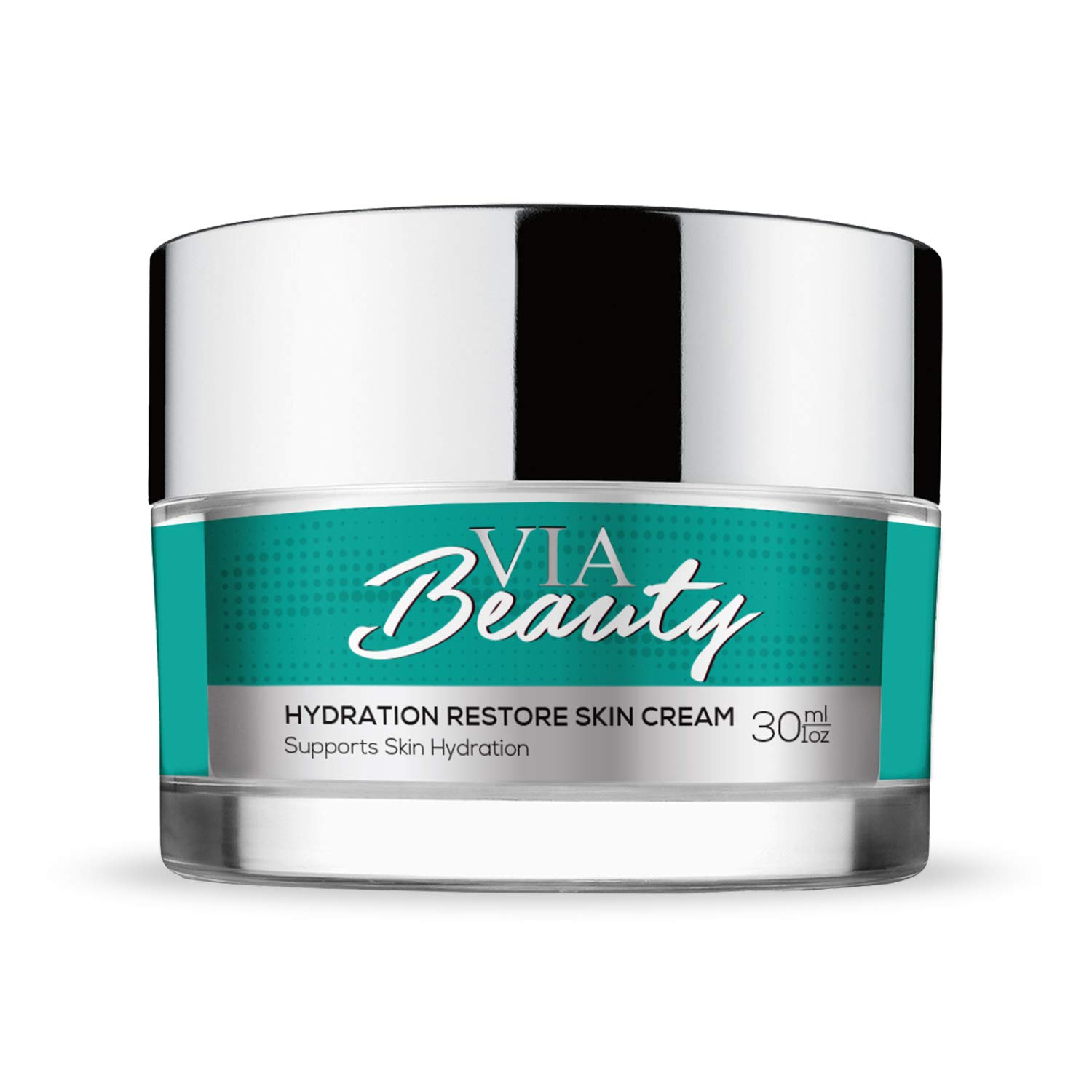 Via Beauty - Hydration Restore Skin Cream - Anti-Aging Skincare for Fine Lines and Wrinkles - Collagen Production -Supports Skin Hydration