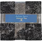 Artisan Spirit Shimmer Mineral Stone Tiles 42 10-inch Squares Layer Cake Northcott
