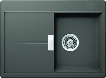 Schock Hor D100ssil Cristadur Bowl Inset Kitchen Sink Horizont D