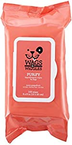 Wags & Wiggles Purify Hypoallergenic Wipes for Dogs