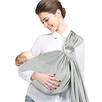 Amazon Com Atomcool Baby Water Ring Sling Carrier Breathable Baby