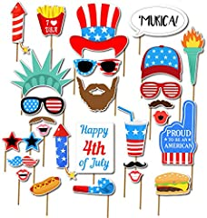 (Sticks and Card Paper is separated , the item must be attached by yourself,it is very easy)  Great Fun at Independence Day Party, Birthdays , Parties Pass them out as gifts after the main event, students love playing with these. or save them...