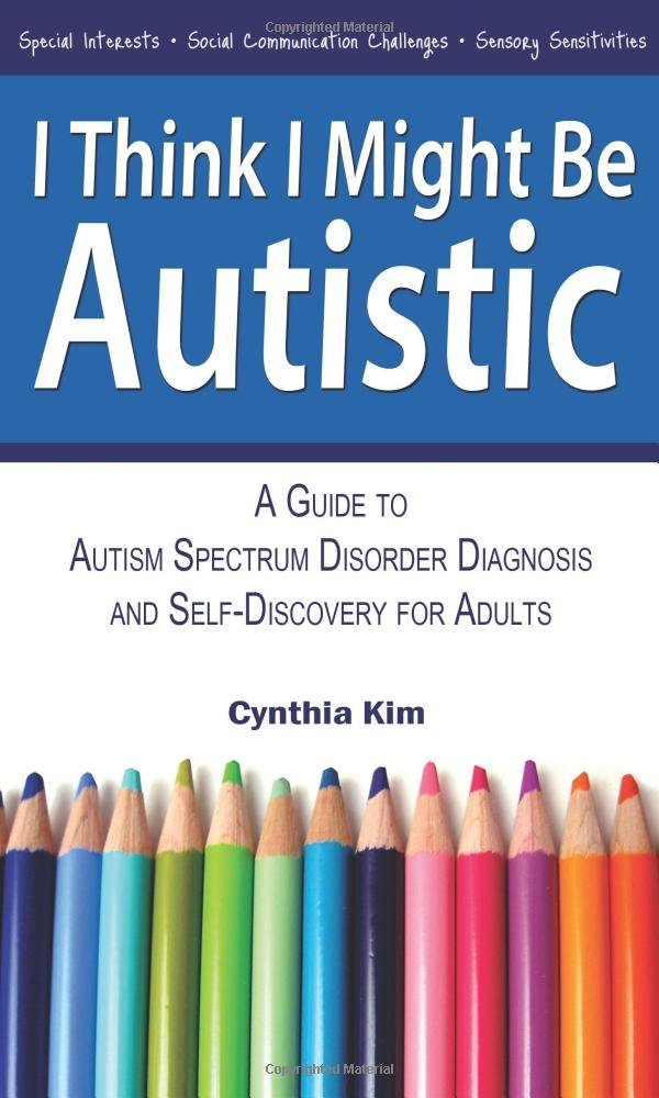 Think Might Autistic Diagnosis Self Discovery product image
