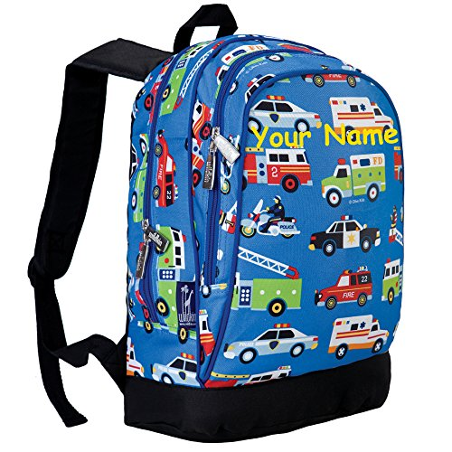 Personalized Olive - Personalized Olive Kids Heroes Sidekick Backpack