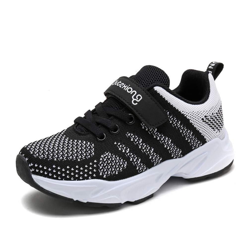 Brilliant sun Kids Casual Shoes Breathable Mesh Patchwork Hook/&Loop Sport Running Shoes