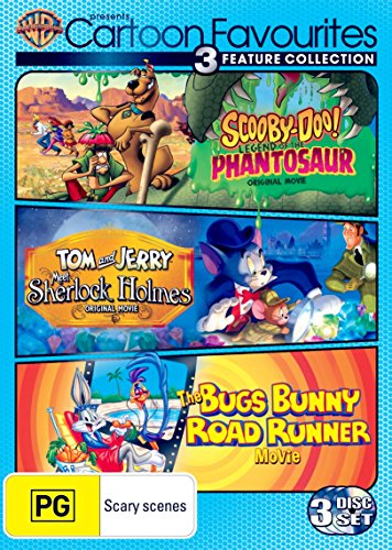 Scooby-Doo!: Legend of the Phantosaur / Tom and Jerry: Meet Sherlock Holmes / The Bugs Bunny Road Runner Movie [NON-USA Format, Region 4 Import - Australia]