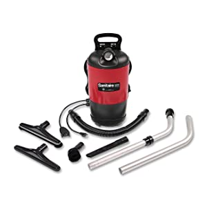 Sanitaire EURSC412B Quiet Clean Backpack Lightweight Vacuum