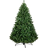 6FT Christmas Tree 1.8M Xmas Faux Green Tree Thick Foliage Jingle Jollys Holiday Decoration Indoor Décor Home Office…