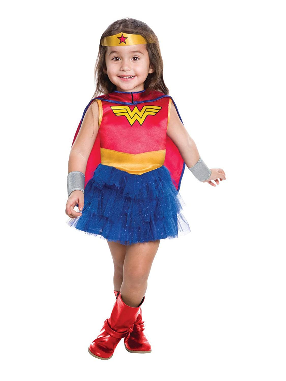 Amazon Com Rubie S Kids Wonder Woman Tutu Dress Toddler 3t 4t