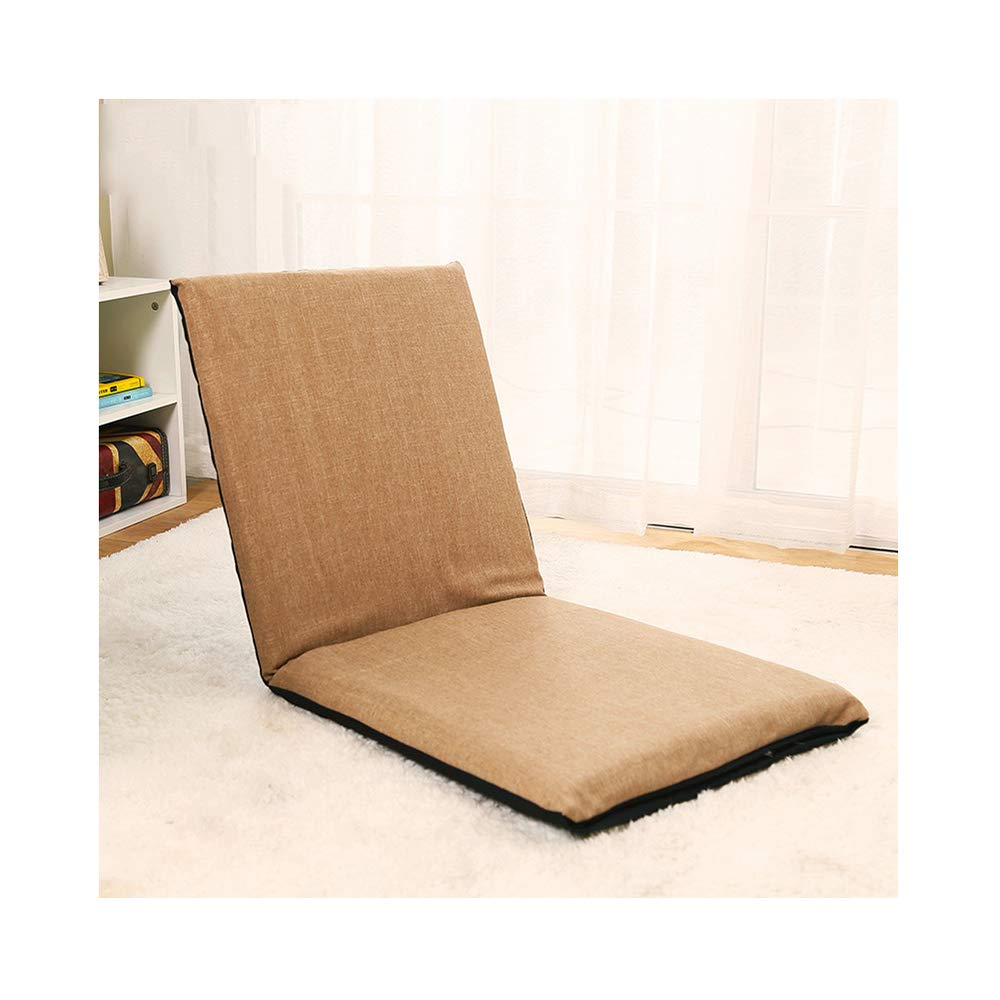 Amazon.com: LEJZH Adjustable Floor Chair with Back Support ...