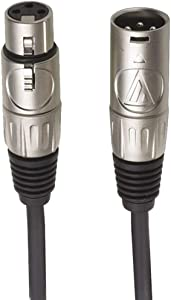 Audio-Technica AT8313 XLR Female to XLR Male Value Microphone Cable, 25 Feet