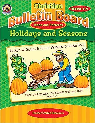 Christian Bulletin Board Ideas And Patterns: Holidays And Seasons: Mary  Tucker: 0088231970705: Amazon.com: Books