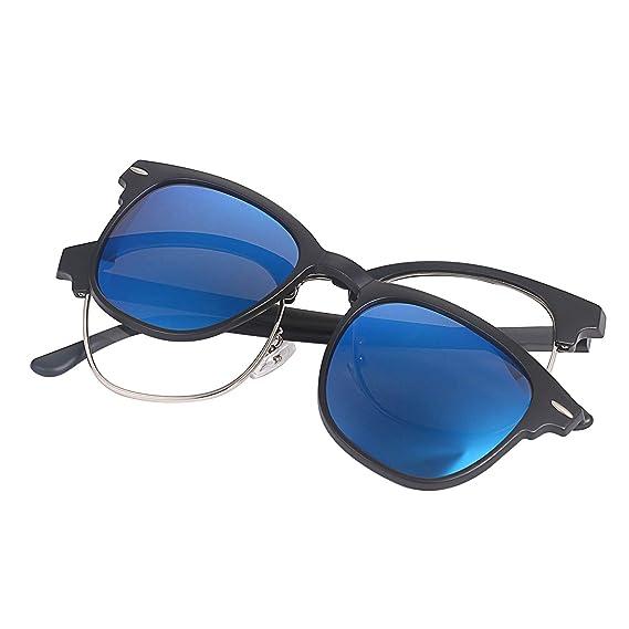 Aroncent Gafas de Sol Mujer Polarizado Hombre Lentes Azul ...