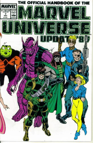 (The Official Handbook of the Marvel Universe Update '89 #7 : From Set to Tyrak (Marvel Comics))