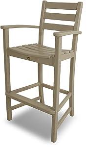 Trex Outdoor Furniture Monterey Bay Bar Sand Castle Arm Chair
