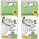 Tidy Cat Breeze Pads, 10 Count (Pack of 2)