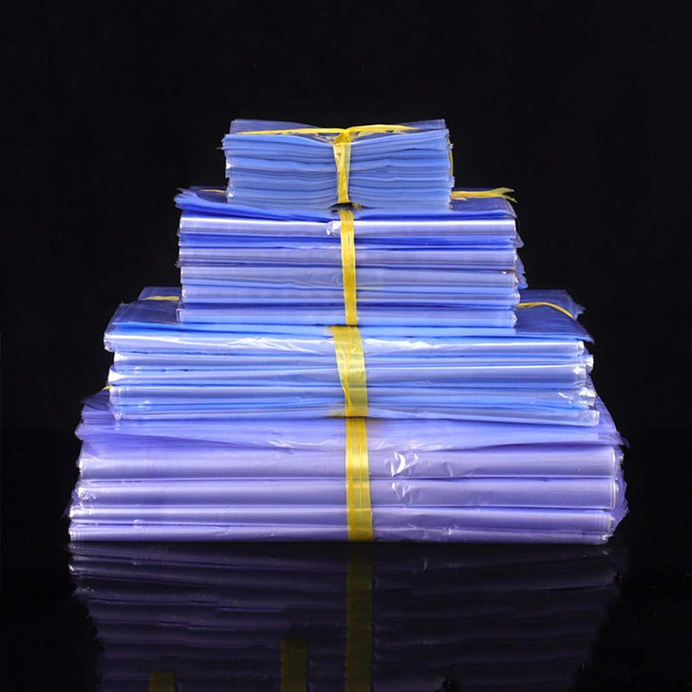 Hemoton 100 Pz 30 Cm Termoretraibile Sacchetti Termosaldati Sacchetti Trasparenti per Imballaggio Sacchetti di Plastica per Il Confezionamento
