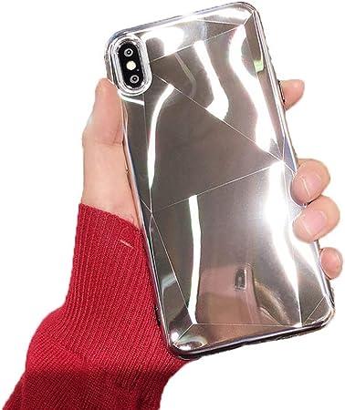 SLONG Estuche para teléfono móvil Compatible con iPhone XS, Carcasa Suave para iPhone XS, XR, Estuche Protector XS MAX,Silver,XS: Amazon.es: Hogar