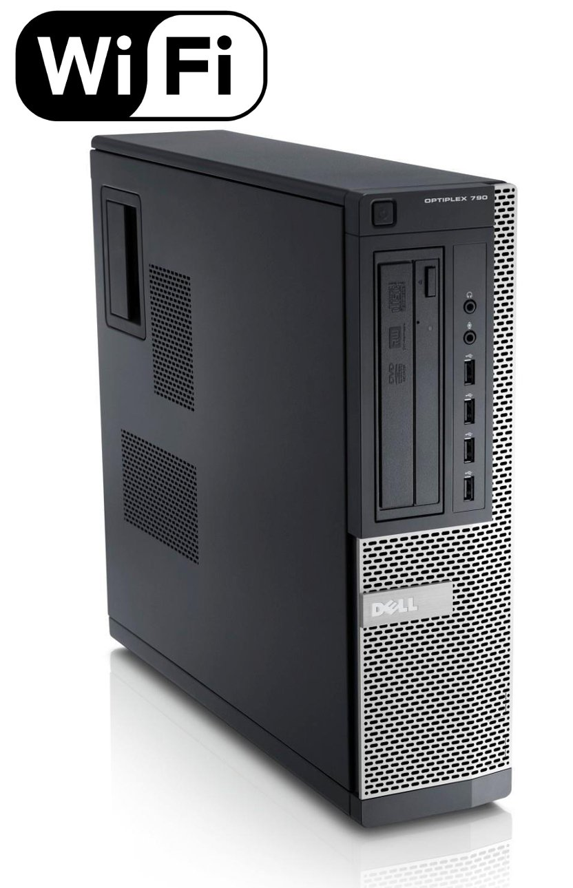 Dell Optiplex 790 Business High Performance DT Desktop Computer PC, Intel Quad Core i5-2400 3.1GHz Processor, 8GB DDR3, 2TB SATA, DVD, Windows 10 Home (Renewed)