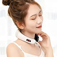 MAGLONG Electric Pulse Neck Massager, Smart Neck Pillow Massager, Physiotherapeutic...