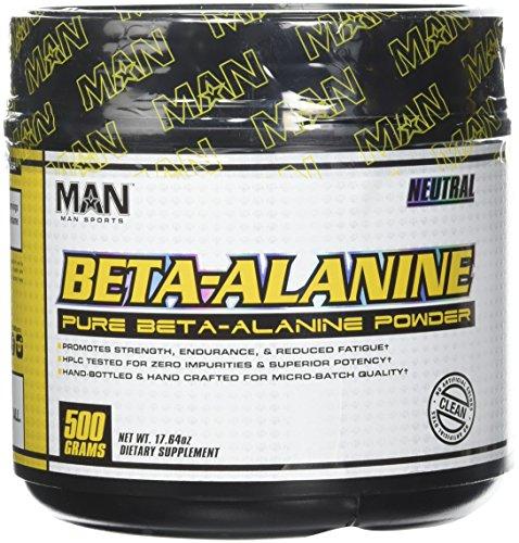 Cheap MAN Sports Beta Alanine Powder, Neutral, 500 Gram