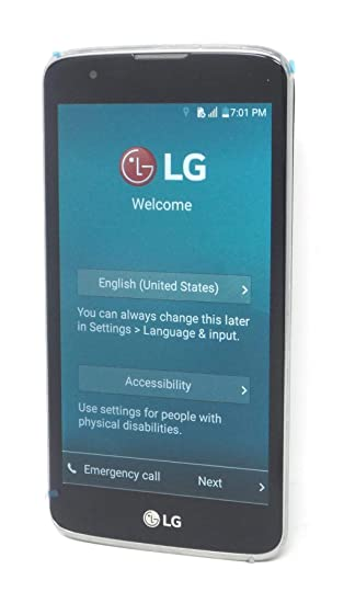Amazon com: LG K7 K330 4G LTE Android 8GB Phone Black T