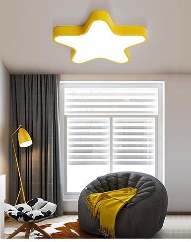 Moderno y simple LED luz de techo colorida Creatividad ...