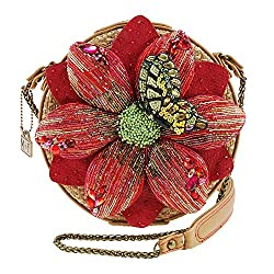 Beaded Floral, Butterfly Handbag