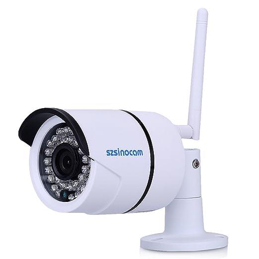 4 opinioni per Szsinocam Videosorveglianza Camera IP Telecamera con Tecnologia Wireless LAN,