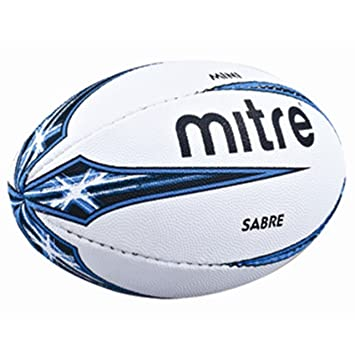 Mitre B4107 Sabre Mini Rugby Ball Pack Of 2 Balls Amazon Canada