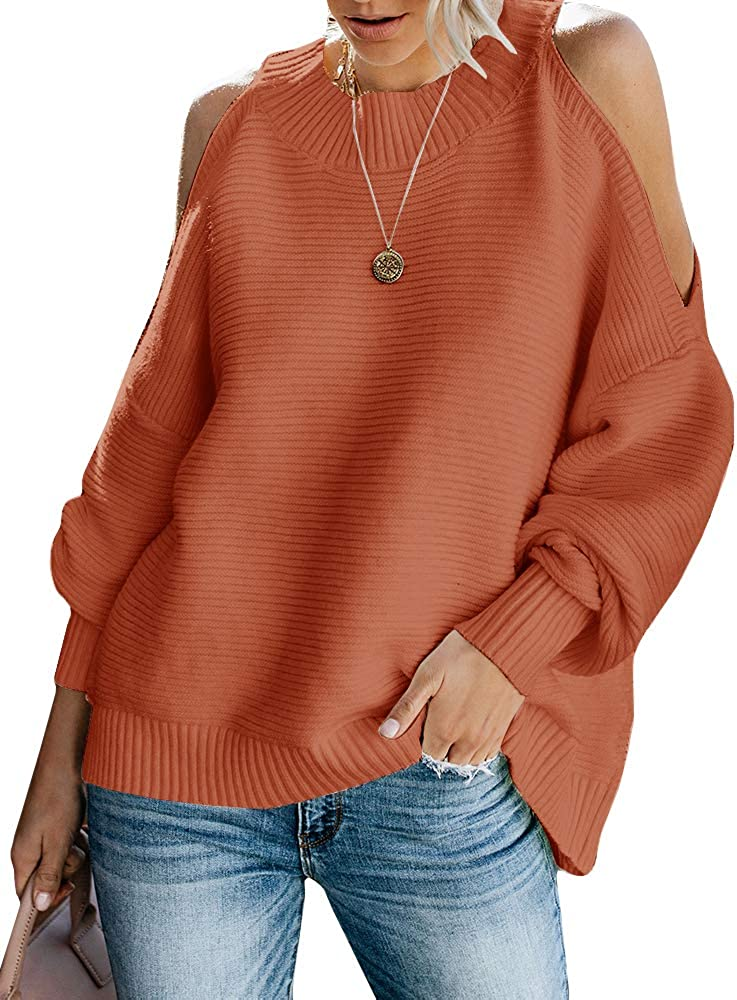 Long sleeve sweater,Off the shoulder sweater,Plus size sweater blue sweater Women sweater Oversize sweaters Pullover sweaters oversized