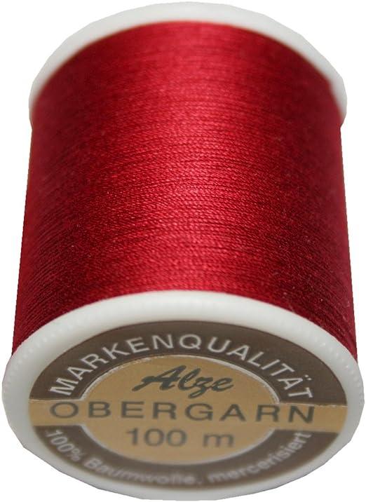 100 m Hilo de coser Máquinas de Coser superior algodón grosor 50/3 ...