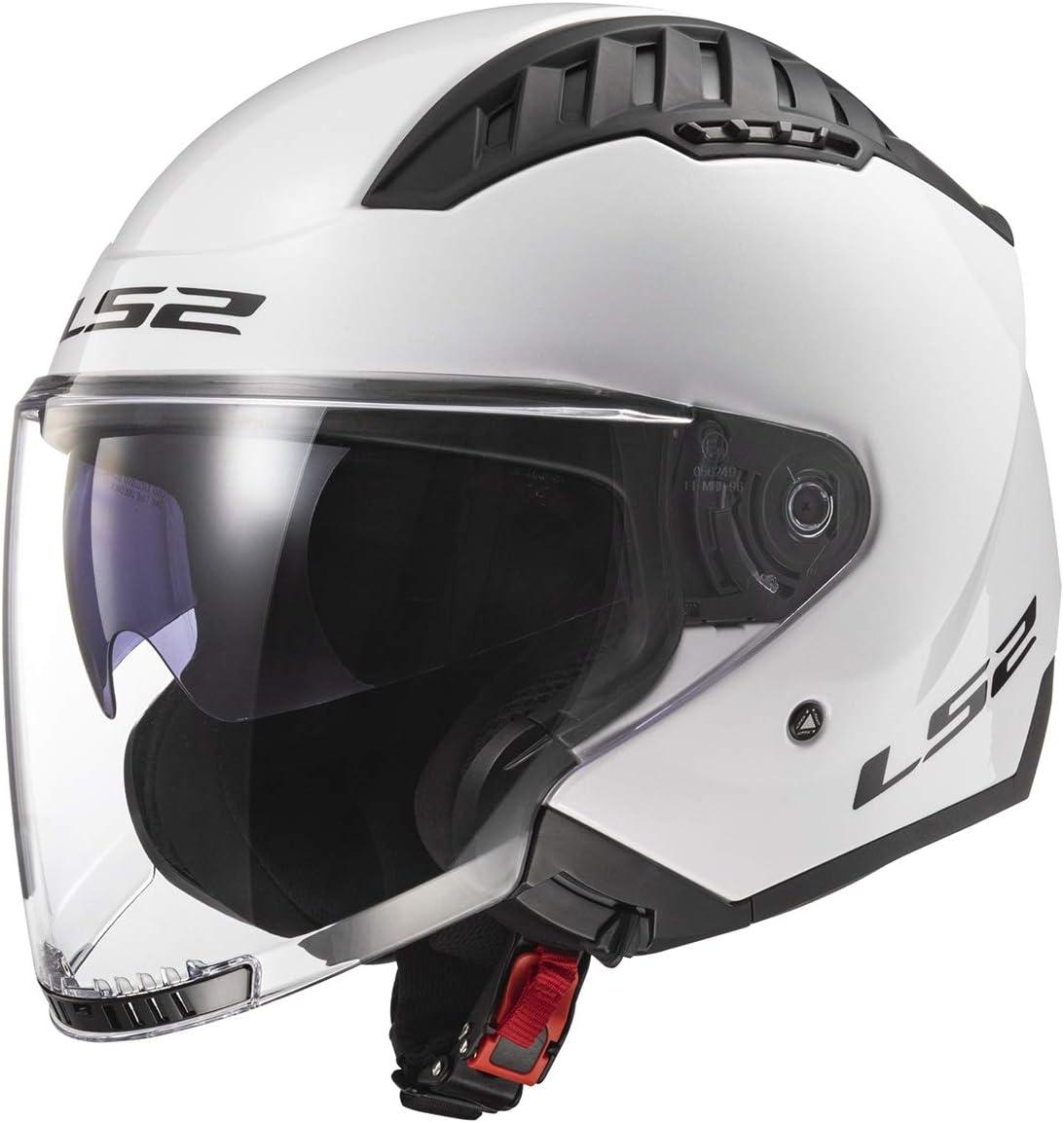 List price LS2 Helmets Copter Many popular brands Open Face White Gloss - X-Large Helmet
