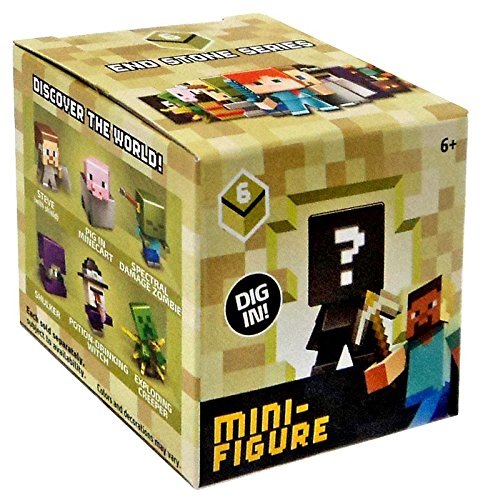 Minecraft End Stone Series 6 Mini Figure Mystery Pack Mattel Toys