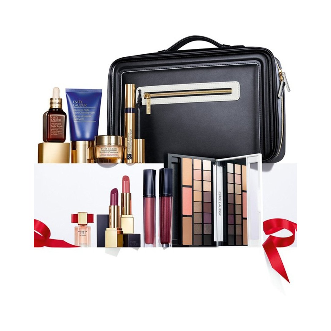 Amazon.com: Estee Lauder Blockbuster Holiday Make Up Gift Set w ...