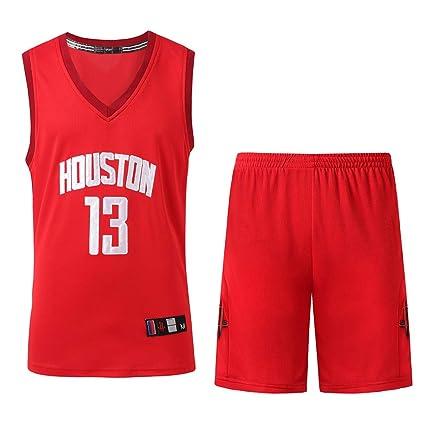 AFDLT NBA 2019 The New 13 Number Harden Jersey para Hombre Uniforme De Baloncesto Ropa De