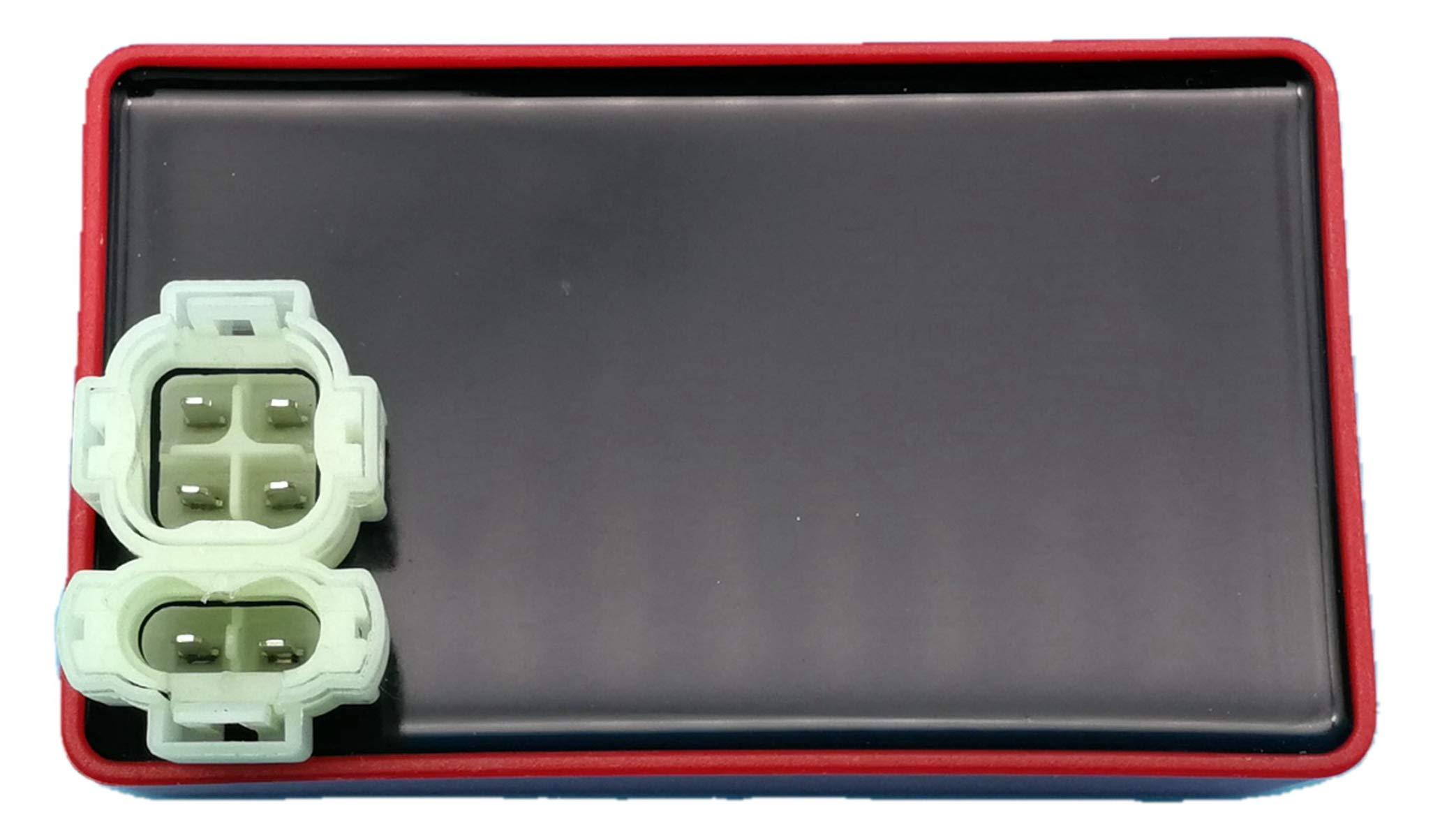 Tuzliufi Replace CDI Box Honda TRX300 TRX300FW TRX400 TRX 300 400 Fourtrax FW Foreman 1994 1995 1996 1997 1998 1999 2000 2001 2002 2003 30410-HM5-505 30410-HM5-671 30410-HM5-672 30410-HM5-670 New Z182 by Tuzliufi