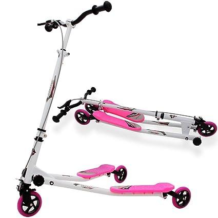 y de niños Roller - Patinete de metal Niños FUN Scooter ...