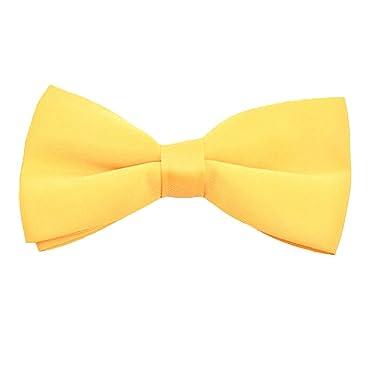Ogquaton Corbata de lazo lisa para hombre de 1 pieza ajustable ...