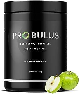 PRE-WORKOUT de Probulus: reduce la fatiga, mejora el rendimiento, fuente de