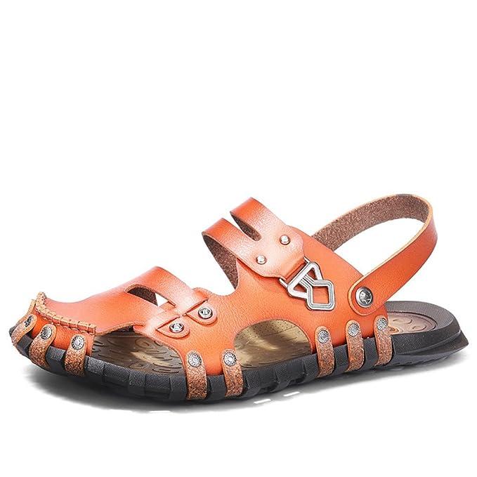 Sandalias de los hombres Sandalias de playa de los hombres Zapatos casuales Zapatillas de deporte de
