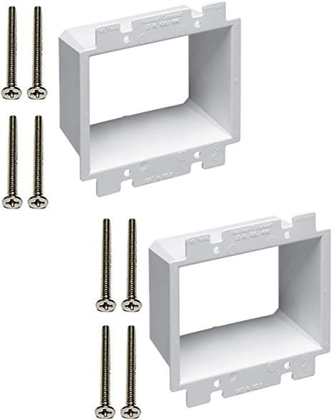 Arlington BE2 Dual Gang Box Extender