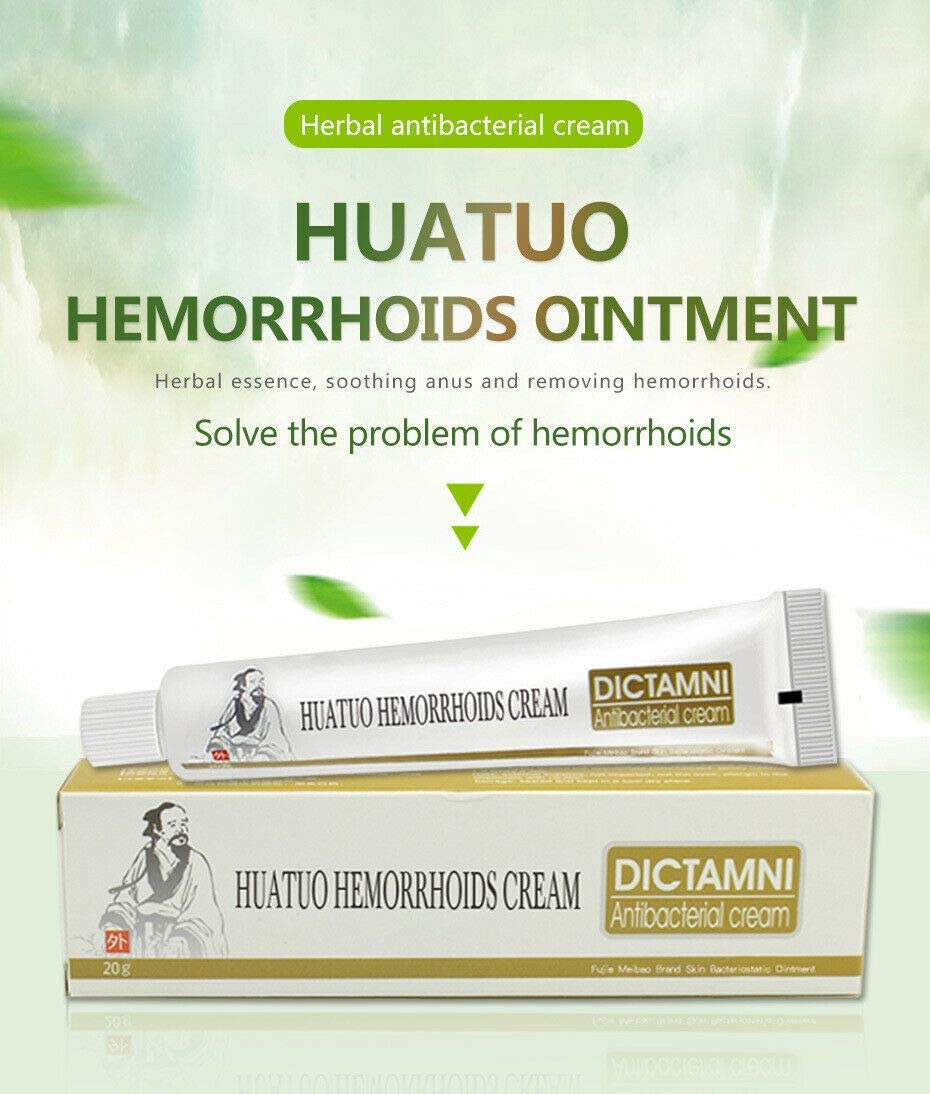 LSSUP Herbal Hemorrhoid-Relief Cream Herbal Hemorrhoid Relief Cream Rapid External Hemorrhoids?Treat by Keeping Hemorrhoids at Bay with This Fast and Effective Solution!