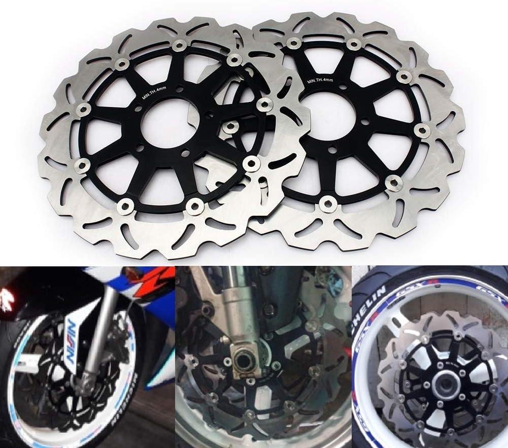 Tarazon 320mm Bremsscheiben Vorne Für Suzuki Tl1000r 1998 2003 Tl1000s 1997 2001 Gsx1400 2002 2007 K1 K8 Gsxr600 750 1000 Gsx1300r Auto