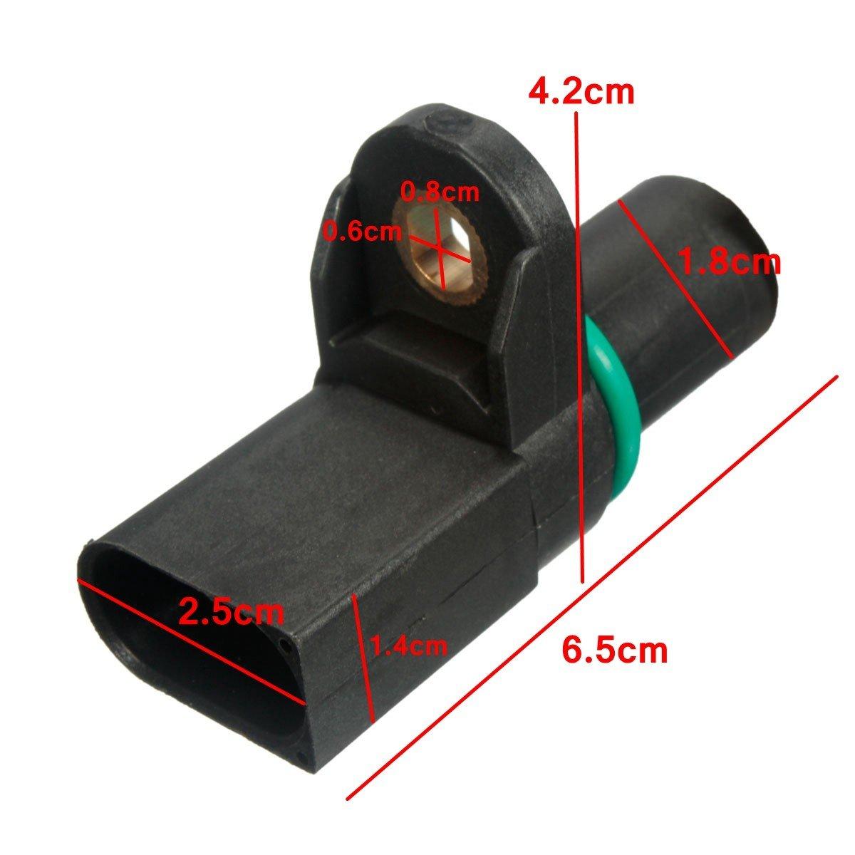 Sensor de posici/ón del /árbol de levas de 3 pines para BMVV 1 3 5 6 7 X3 X5 Z3 Z4 E46 E81 SUNWAN 12147518628