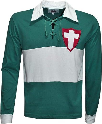 Camisa Palmeiras 1916 Liga Retrô Longa Verde