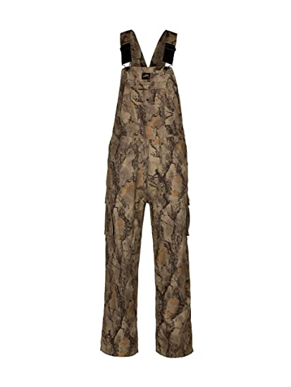 9d65102721273 Natural Gear Camouflage Bib Overall for Men and Women, Non-Insulated,  Cotton Poly