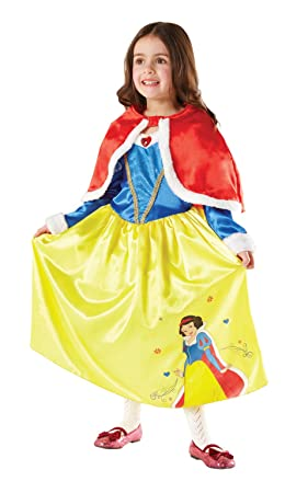 Rubies Blancanieves - Winter Wonderland - Disney - Childrens Disfraz - Pequeño - 104cm