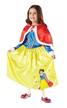 Rubies - Disfraz de Princesa Disney Blancanieves, Invierno en Wonderland para niña, talla L (I-881856L)